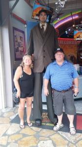 Meeting the Worlds Tallest man, San Antonio TX